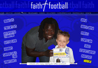 Web Design New Forest Faith and Football web site design and development by New Forest Web