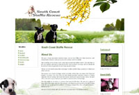 Web Design New Forest South Coast Staffie Rescue joomla web site