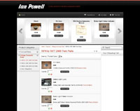 Web Design New Forest Ian Powell joomla virtuemart web site