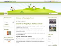 Property New Forest Estate Agent web site